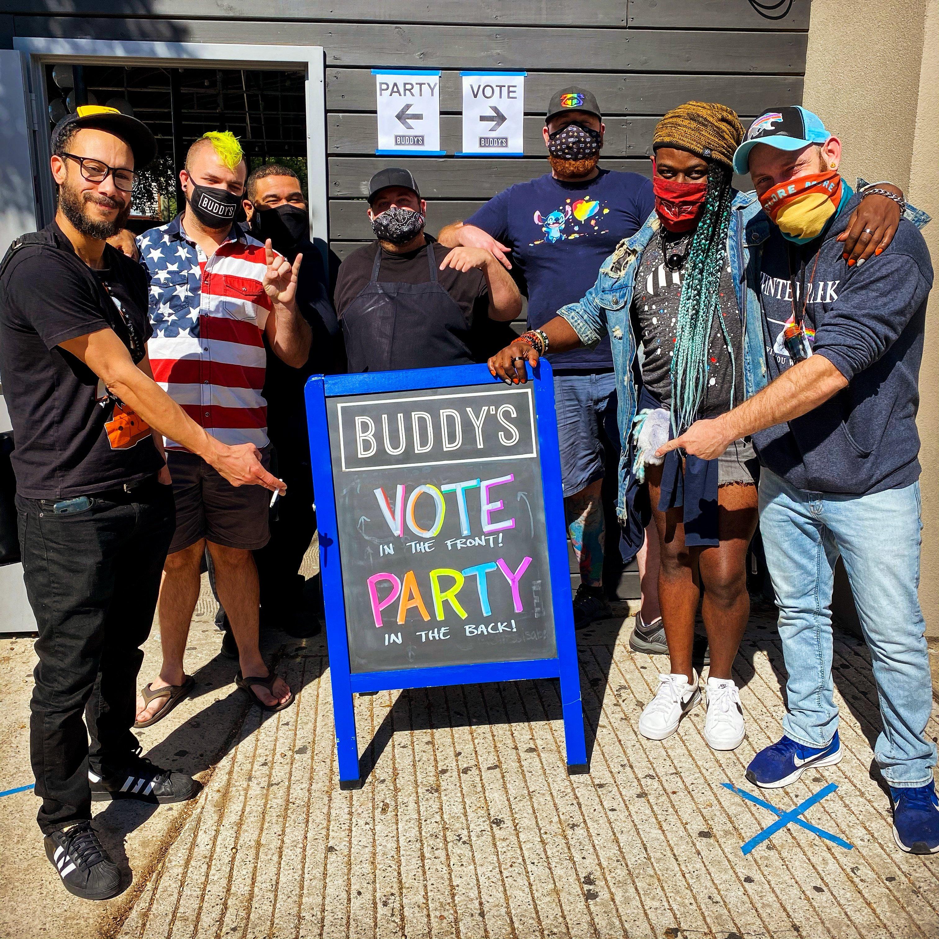 Houston-Gay-Bar-Vote-Polling-Location-Texas-BUDDYS-20201103-3