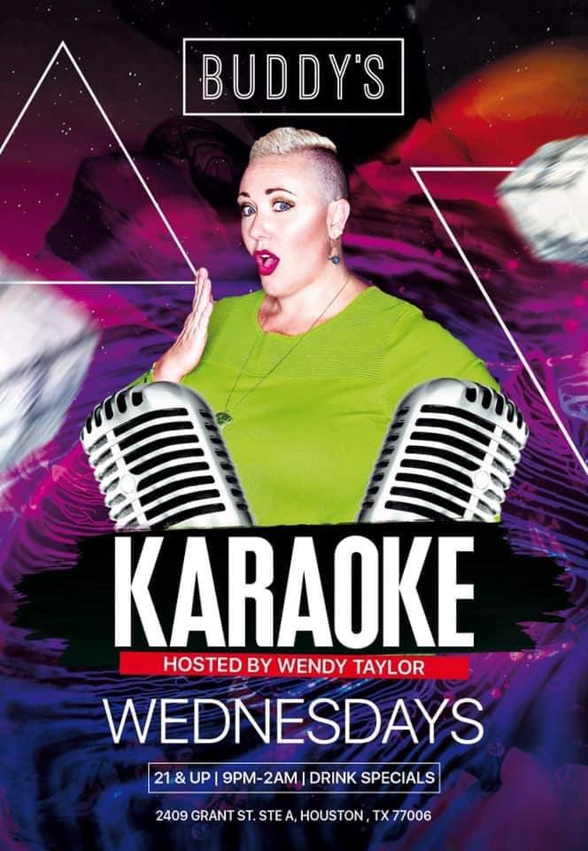 Karaoke-Wednesday-BUDDYS-Wendy-Taylor-2021
