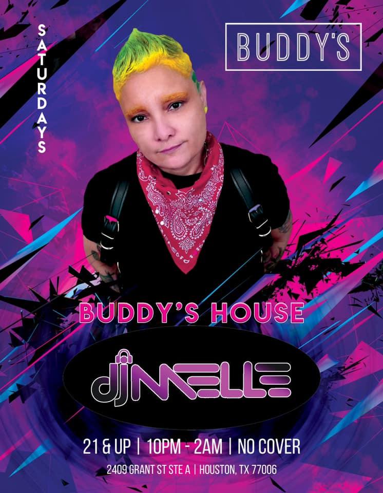 Saturday-BUDDYS-Houston-DJ-Melle-20210131